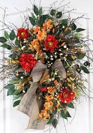 wreath for front door outdoor summer spring grapevine wreath front door wreath oval
