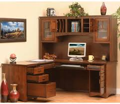 solid wood writing desk with hutch mission solid wood l shaped desk hutch