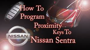 nissan micra immobiliser light stays on how to program proximity key remote to nissan sentra youtube