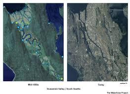 Dot Seattle Traffic Map by Seattle U2013 Hidden Hydrology