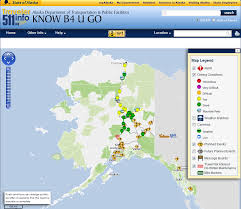 Alaska Road Map by Busy Road Construction Repair Season Under Way On U0027just About