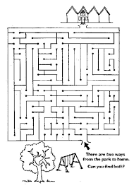 ideas collection maze printable worksheets for example