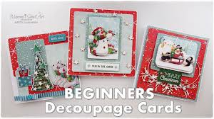 easy decoupage cards trimcraft maremi s