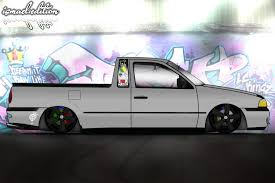 vw saveiro vw saveiro g3 euro style by ismaelrocha on deviantart