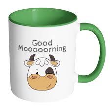 animal mug cow mug good morning mug kids farm mugs farm birthday gift