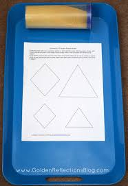 diamond u0026 triangle sensory tracing pre writing activities for