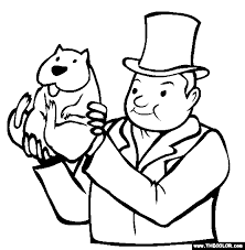 Groundhog Day Online Coloring Pages Page 1 Groundhog Color Page