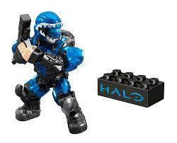 mega bloks halo grenade metallic series figure blue amazon co