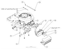 troy bilt 13wn77bs011 pony 2017 parts diagram for engine accessories