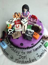 birthday cake shop shopping cake shopping shopaholic cake https www