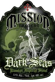 Dark Seas Russian Imperial Stout | San Diego Beer Blog