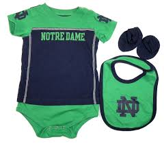 Nebraska Huskers Baby Clothes Amazon Com Notre Dame Fighting Irish Baby Infant
