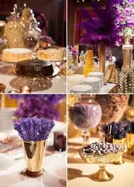 white gold and purple wedding sweet 15 purple gold candy bar juliana dez events