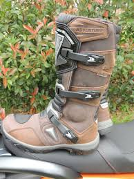 adventure motorcycle boots forma adventure boots brown a pair of stroms