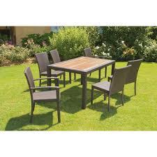 tavoli da giardino rattan tavoli e sedie in rattan cheap vidaxl set pz tavolo e sedie da