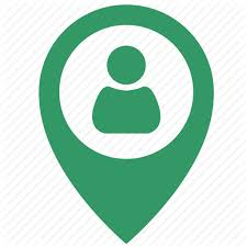 map login login map object point pointer user icon icon search