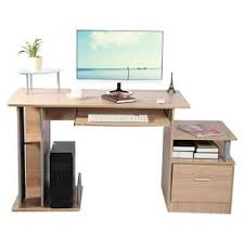vente bureau informatique bureau informatique couleur noyer achat vente bureau
