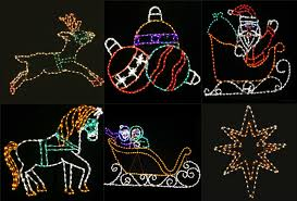 Christmas Rope Light Motifs by New Style Rope Light Motif Decora Led Santa Claus Motif Christmas