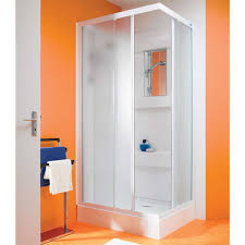 bathroom exciting corner shower kit with rain shower for modern awesome orange wall decor with corner shower kit and towel bar for modern bathroom design