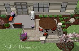 My Patio Design Diy Patio Addition Design With Seat Wall Plan