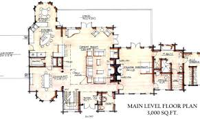 large cabin plans large luxury cabin floor plans success building plans