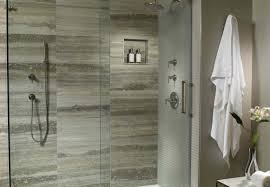 shower gorgeous shower faucet on brown tile wall in stunning