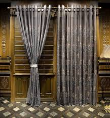 Silver Window Curtains Luxury Silver Gray Embroidery Floral Tulle Window Curtain Sheer