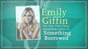 Something Blue Emily Giffin Emily Giffin Author Of Something Borrowed