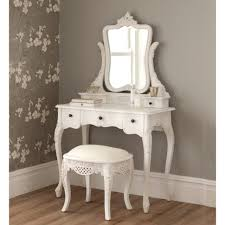 Bedroom Furniture Dressing Tables bedroom furniture dressing table bench narrow vanity table white