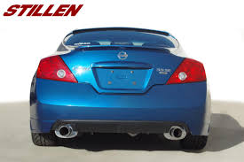 nissan altima coupe accessories altima coupe stillen garage