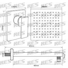 KES Bathroom Shower Faucet Set Single Handle Solid Brass Roughin - Faucet sets bathroom 2