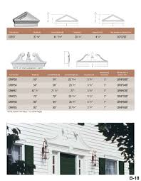 Exterior Door Pediment And Pilasters Architectural Elements Pediments