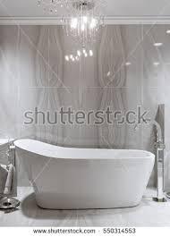 Marble Tile For Bathroom Large Furnished Bathroom Luxury Home Marble Stock Illustration