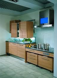 barrierefreie küche barrierefreie küche in hellem holz