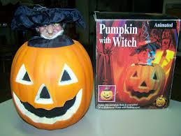 Halloween Witch Animated Animated Pumpkin With Witch Gemmy Wiki Fandom Powered By Wikia