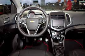 Chevrolet Sonic Interior 2013 Chevrolet Sonic Rs Photo Gallery News Cars Com