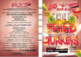 thanksgiving catering houston bbq catering big 6 bar b que
