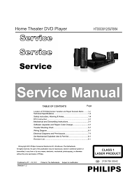 Buy Philips Hts5520 94 5 1 Dvd Home Theatre System Online At Best - service manual manuales de service