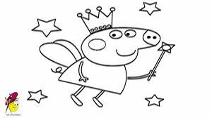 peppa pig fairy draw peppa pig fairy