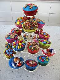 cupcake birthday cake cupcake tree birthday cake this was the easy cake option f flickr