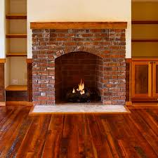 rustic fireplaces white finger