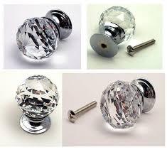 crystal cabinet door handles crystal pull knob clear cut drawer pull doorknob cabinet