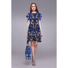 roberto cavalli pretty thing jersey dress midnight blue outlet store
