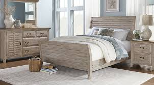 King White Bedroom Sets Nantucket Breeze White 5 Pc King Sleigh Bedroom King Bedroom