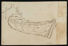 sketch of a house and a boat u0027 philip james de loutherbourg 1786