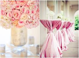 theme wedding decorations lovable pink wedding decoration ideas a pink theme wedding