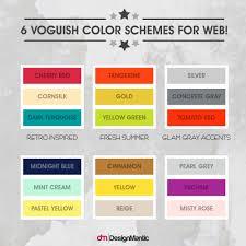 color philosophy u0026 system in web design designmantic