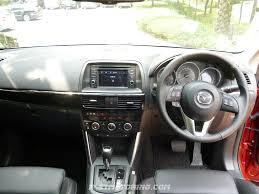 mazda interior cx5 mazda cx 5 compact suv reviewed in malaysia