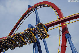 Six Flags New Jersery Superman Flying Coaster