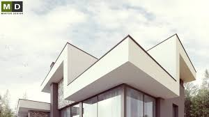Energy House by Luxury Low Energy House With White Plaster And Stone Facing